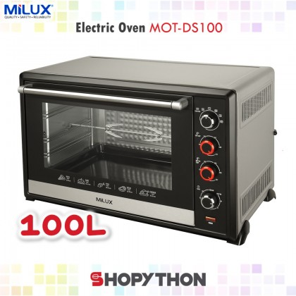 Milux Electric Oven MOT-DS100