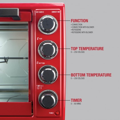 INNOFOOD Electric Oven KT-CL60R