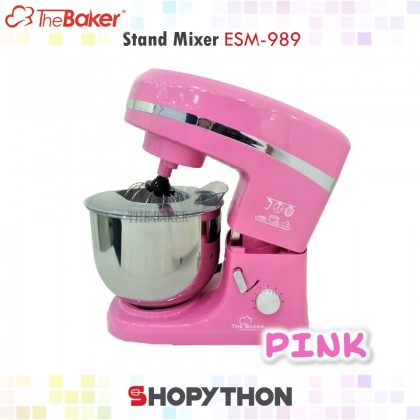 The Baker Stand Mixer ESM-989 Pink