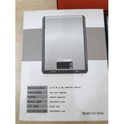 THE BAKER Digital Kitchen Scale CX-Series