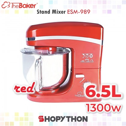 The Baker Stand Mixer ESM-989 (Red)