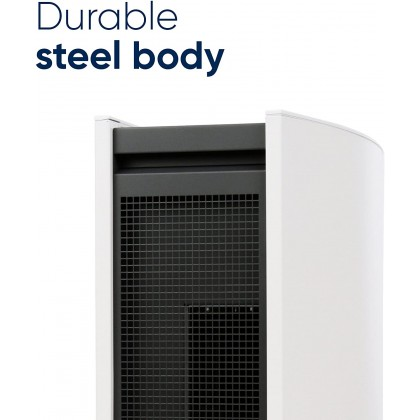 BLUEAIR Air Purifier Classic 405 with Particle Filter 40m² HEPASilent Technology Low Energy Consumption Remote App