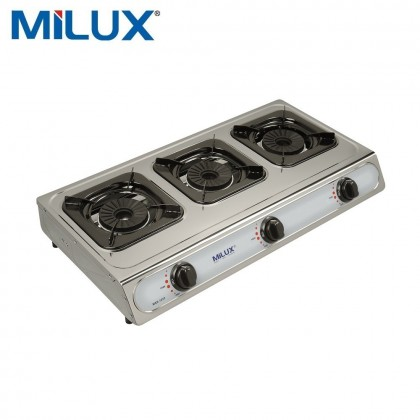MILUX Triple Gas Cooker MSS-1033