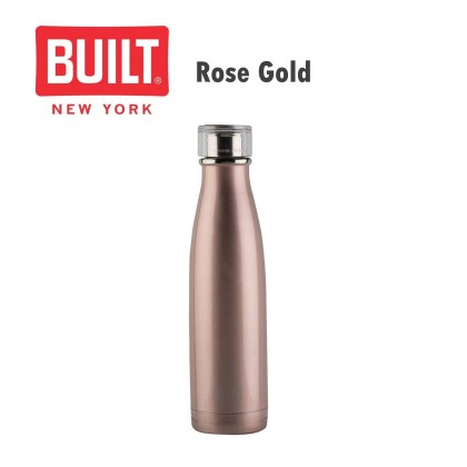 Built V&A 500ml Double Walled Stainless Steel Water Bottle