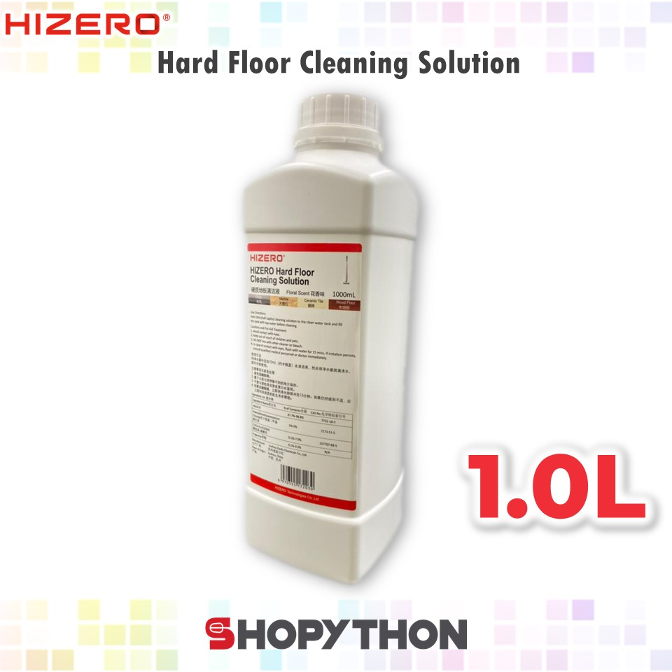 HIZERO Hard Floor Cleaning Solution