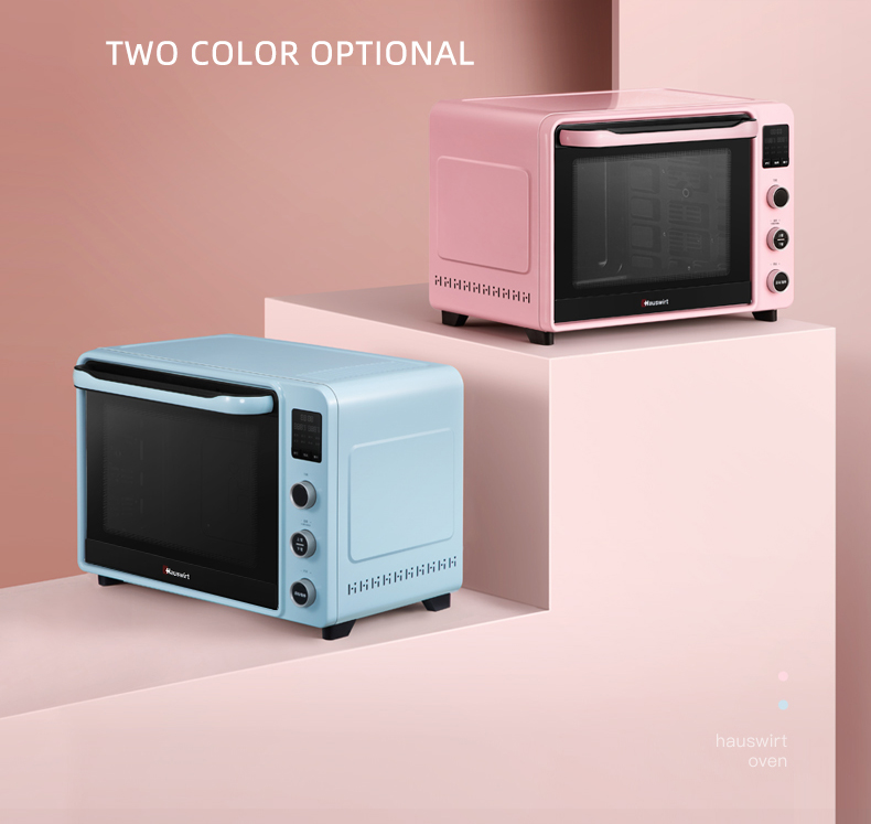 HAUSWIRT Electric Oven C40 (Pink)