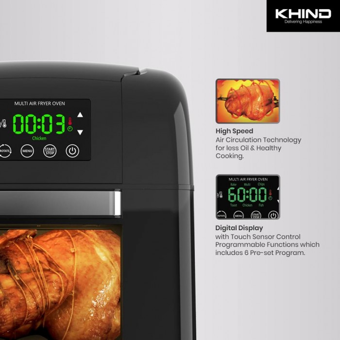 KHIND Multi Air Fryer Oven ARF9500